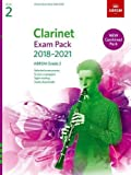 Clarinet Exam Pack 2018-2021, ABRSM Grade 2: Selected from the 2018-2021 syllabus. Score & Part, Audio Downloads, Scales & Sight-Reading (ABRSM Exam Pieces)