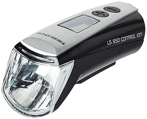 Trelock Beleuchtung LS 950 Control Ion 70 FB ZL 800 Batteriefrontschweinwerfer schwarz, one size