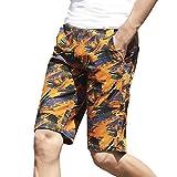 Kurze Hose Surfende Schwimmen Wasser Hosen der Männer Schnelle Sport Beach Badehose GreatestPAK,Orange,29