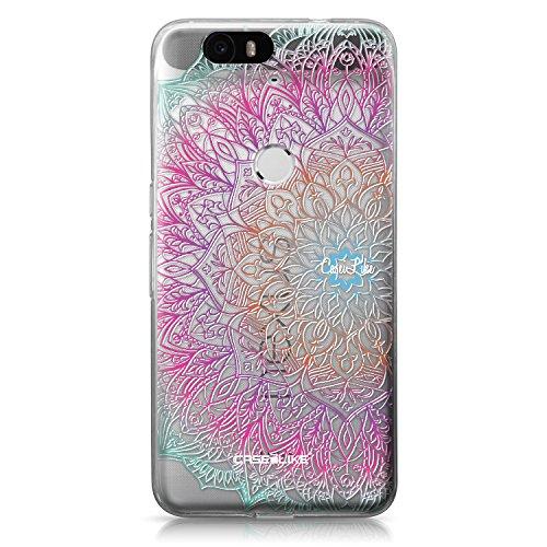 CASEiLIKE® Nexus 6P Hülle, Nexus 6P TPU Schutzhülle Tasche Case Cover, Mandala-Kunst 2090, Kratzfest Weich Flexibel Silikon für Huawei Google Nexus 6P