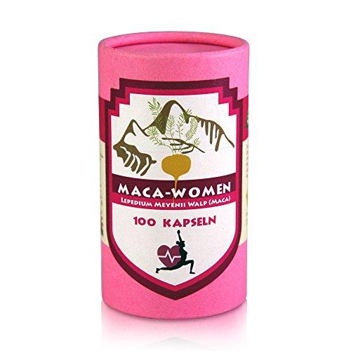 Maca Woman 100 rote Maca plus Yamswurzel 16 % diosgenin, speziell für Frauen - Frauen Pulver