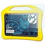 Bruni Schutzfolie für Xoro KidsPad 903 Folie - 2 x glasklare Displayschutzfolie