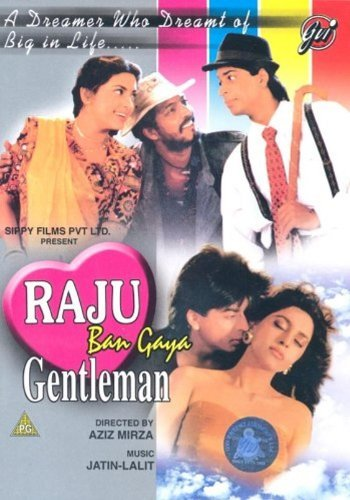 Raju Ban Gaya Gentleman (1992) (Shahrukh Khan - Juhi Chawla / Hindi Film / Bollywood Movie / Indian Cinema DVD) by Shah Rukh Khan