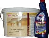 NANO ANTISCHIMMELFARBE mt Silber, weiß, 5 Liter + Antischimmelspray 750 ml im Set