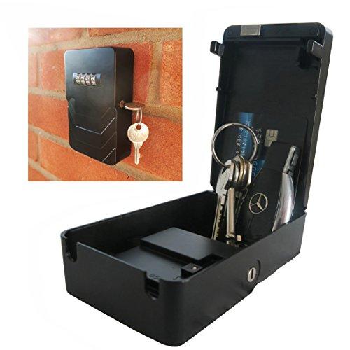 Frostfire Mooncode–Portátil clave de seguridad cerradura con copia de seguridad clave