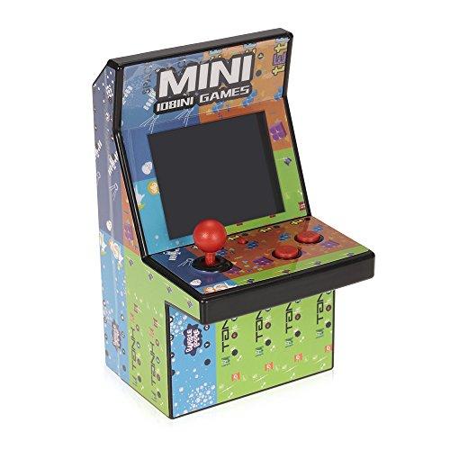 80er Retro Mini Arcade Spielautomat mit 2.8″ LCD Farb Display, eingebautem Lautsprecher und 108 Videospiele - 3