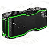 IPX7 Wasserdicht Bluetooth Lautsprecher, URPOWER Bluetooth 4.0 Lautsprecher NFC Tech Kabellos Tragbar Wireless Speaker mit 10W Power Bass für iPhone iPad Samsung Nexus HTC und Andere Handys & Geräte
