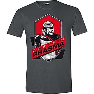Cotton Division Tshirt Homme Star Wars VII - Phasma Badge - Legend Icon