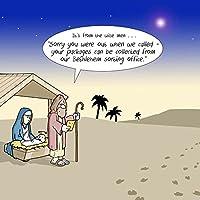 Twizler Merry Christmas Card - Jesus, Bethlehem, Three Wise Men & Missed Package -Happy Christmas Card -Xmas Card –Funny Christmas Card -Womens Christmas Card -Mens Christmas Card -Male Christmas Card