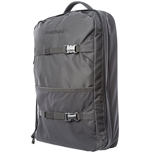 hardwrk Backpack Pro für MacBook - Business Rucksack von Deuter in neutral schwarzem Design - extra Fach für Apple iPad MacBook Laptop