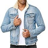 Redbridge - Giacca Jeans a Manica Lunga da Uomo Blu