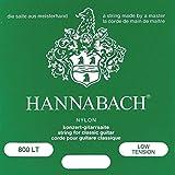 Hannabach Cordes Guitare classique Série 800 Low tension Argentée Mi1 corde unique