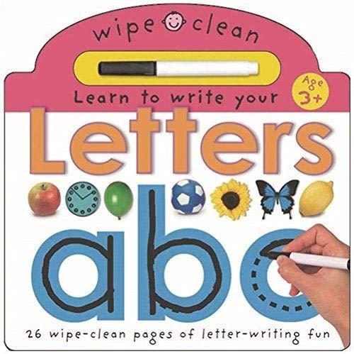Wipe Clean Learning: Letters