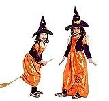 Taille XL - 8-9 ans - Costume - Déguisement - Carnaval - Halloween - Sorcière - Megera - Maga - Purple Orange - Petite Fille - Spiderman