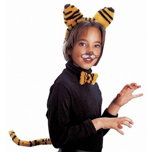 300105 Widmann Kinder Kostüm Set Tiger, Tigerkostüm