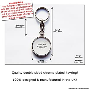 XBOX 360 Video Game Console Quality Chrome Keyring Picture Both Sides