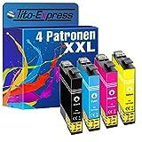 PlatinumSerie 4 Cartouches compatibles avec Epson 29XL TE2991-TE2994 Expression Home...