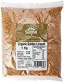 Suma Bagged Down Organic Golden Linseed 1 kg