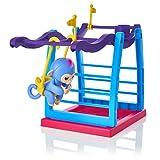 LandFox For Finger Monkey Giungla Swing Palestra Playset Interactive Bambino Scimmia Stand di arrampicata immagine