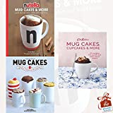 Nutella Mug Cakes and More, Mug Cakes and Cath Kidston Mug Cakes, Cupcakes and More! 3 Books Collection Set With Gift Journal - Quick and Easy Cakes, Cookies and Sweet Treats, Ready in Five Minutes in the Microwave
