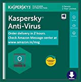 #10: Kaspersky Anti-Virus Latest Version- 1 PC, 1 Year (Email Delivery in 2 hours- No CD)