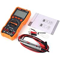 Mountxin NJTY T28B Digitalmultimeter DC/AC Volt Amp Ohm Diode NCV Mini Multitester - Orange & Grau
