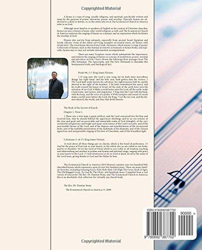 The Ecumenical Church in America Hymnal 2010 Edition.