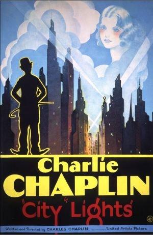 CITY LIGHTS – Charlie Chaplin – US Imported Movie Wall