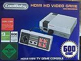VÍDEO CONSOLA RETRO CLASSIC CON 621 JUEGOS TV Y 2 MANDOS HDMI