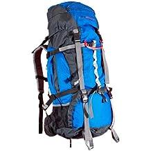 Ultrasport 380100000005 - Mochila de senderismo y trekking con funda impermeable, 50 litros