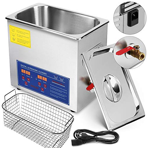 BananaB JPS-40A Ultraschallreiniger 10L reiniger ultraschallgerät Ultraschallreinigungsgerät Ultrasonic Cleaner mit Heizung Digital Timer for glasses Jewellery False Teeth Coins etc