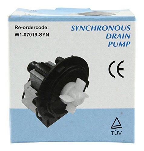 Fixapart W1-07019-SYN accesorio para artículo de cocina y hogar - Accesorio de hogar (540g, 90 x 100 x 100 mm) Negro, Gris, Color blanco