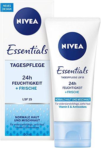 Nivea Feuchtigkeitsspendende Tagespflege, 4er Pack (4 x 50 ml)