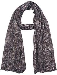 SCURF CORNER Women's Cotton Dupatta (Black & Grey)