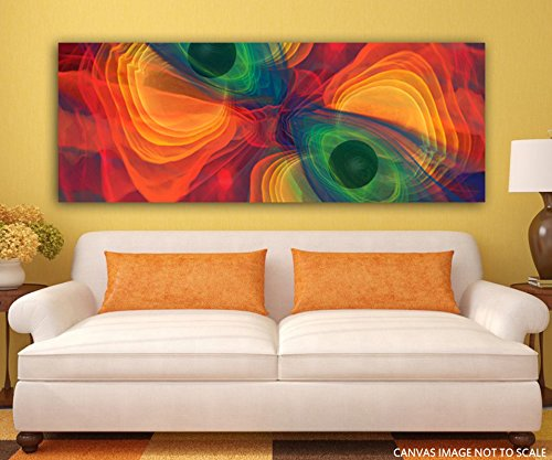 Canvas Painting - Fringed - Modern Art - Abstract