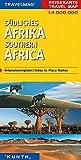 Carte de voyage Afrique du sud 1 : 4 Mio...