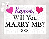 Will You Marry Me Jigsaw Puzzle, Personalised Proposal Ideas, Custom Marriage Jigsaw