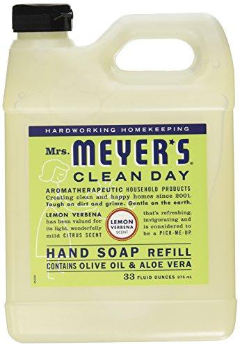 Lemon Hand Soap Refill (Mrs. Meyer's Liquid Hand Soap Refill - Lemon Verbena - 33 Lf Oz)