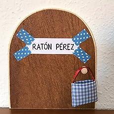 Ratoncito Pérez: La auténtica puerta mágica ♥ Con una preciosa bolsita de tela.