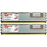 Komputerbay _ Memoria FBDIMM per HP Workstation W6400X / W6600X / W8400, 4 GB (2 x 2 GB) 667MHz DDR2