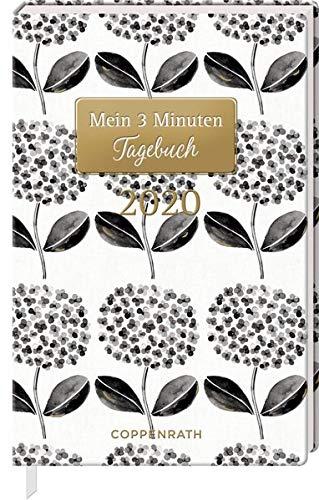 Mein 3 Minuten Tagebuch 2020 (Schwarze Blüten) (Jahreskalender)