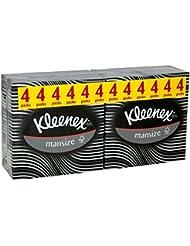 Kleenex Hommes compacts tissus (50 par paquet x 4) - Paquet de 6