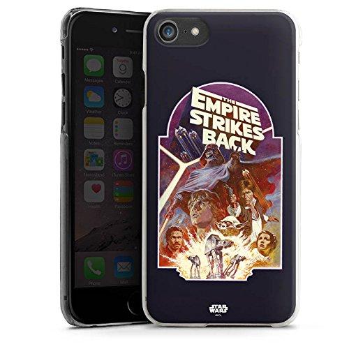 Apple iPhone X Silikon Hülle Case Schutzhülle Star Wars Merchandise Fanartikel The Empire Strikes Back Hard Case transparent