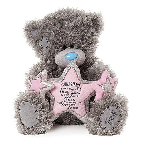 Me To You Apd01003 Tatty Teddy Girlfriend Ours avec étoile, étoile, étoile, Gris 5070d0