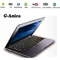 G-Anica® Netbook Ordenador portátil 10 pulgadas Android 5.0 (WIFI, 1.5GHz 1GB de RAM, 8GB de disco duro) (Negro)