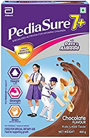 Pediasure 7+ Specialized Nutrition Drink Powder for Growing Children Chocolate Flavour 400 gm