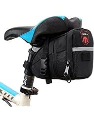 Bolsa de Sillín para Bicicleta, Bicicletas Bolsa, Alforjas, Mochilas para Sillin, tija o asiento tresero de Bicicleta.