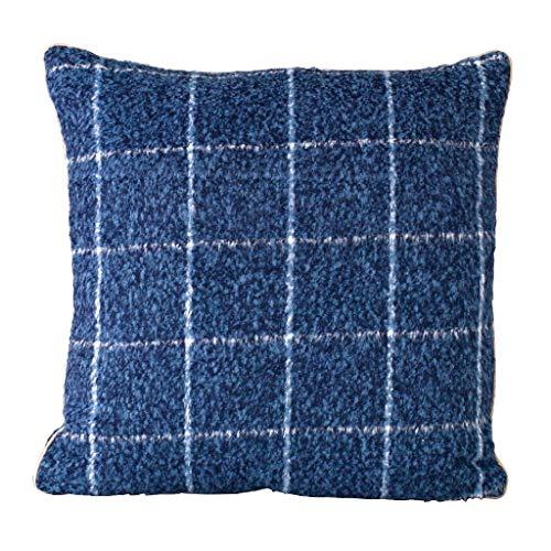 Time Concept Enrich Fensterscheiben-Kissen, Polyester, Blau - Überwurf Couch-Kissen, Dekokissen, Sofa Kopfstütze, Home Decor Blue - 18