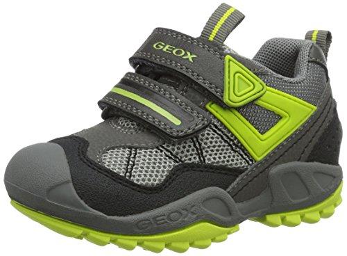 Geox J New Savage a, Zapatillas para Niños, Gris (Grey/limec0666), 29 EU