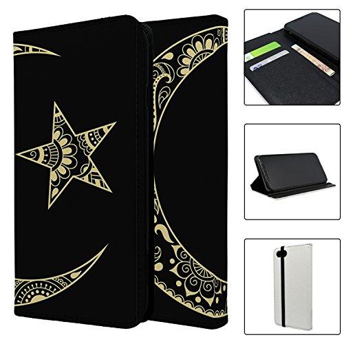 Religion Islam Symbol Full Flip Case Schutzhülle für für Apple iPhone 8–S1899